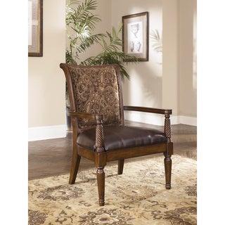 Signature Design by Ashley Showood Antique Accent Chair