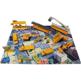 DimpleChild 40-piece Die Cast Metal Vehicles Construction Set
