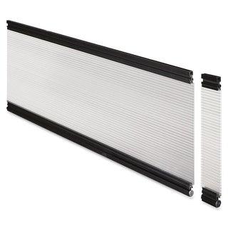 Lorell 30-inch Wide Glazed Desktop Panel System
