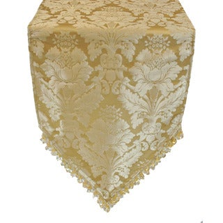 Sherry Kline Angelina Gold Luxury Table Runner