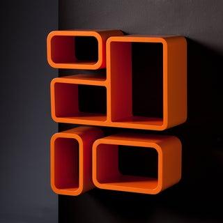 Upton Home Tullos Orange 4-piece Shelf Set
