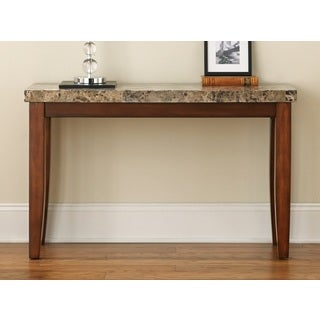 Martinique Marble Top Sofa Table