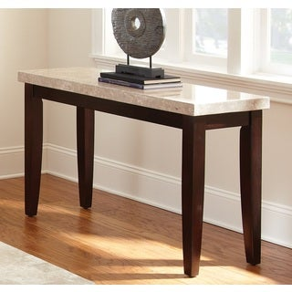 Malone Marble Top Sofa Table