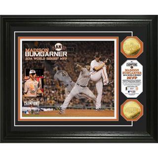 San Francisco Giants 2014 World Series Champions MVP Madison Bumgarner Gold Coin Photo Mint