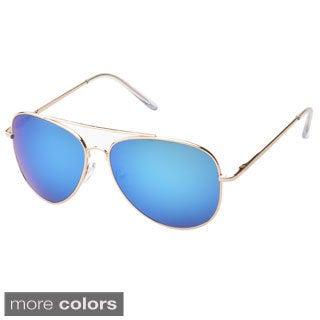 EPIC Eyewear 'Knoxville' Double Bridge Aviator Sunglasses