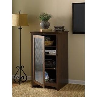 Bush Furniture Buena Vista Audio Cabinet/ Bookcase