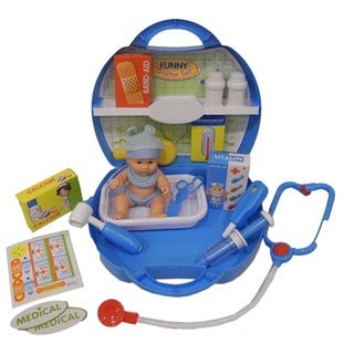 DimpleChild 20-piece Deluxe Pretend and Play Doctor Set