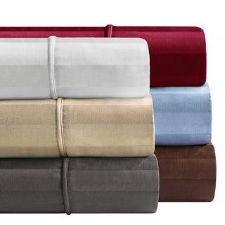 Madison Park 300 Thread Count Dobby Stripe 4-piece Sheet Set