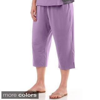 Live Life Large Women's Plus Size Capri Pant