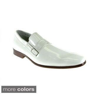 Ferro Aldo Men's Patent Leather Loafers