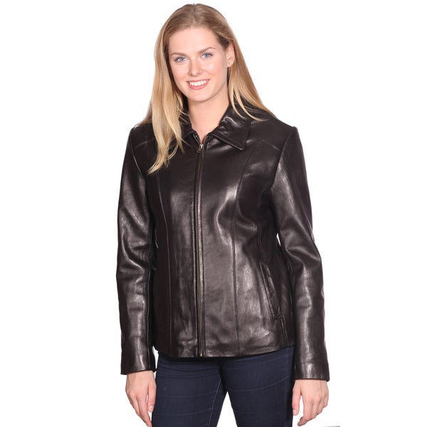Whet blu Women's Motocross Leather Jacket