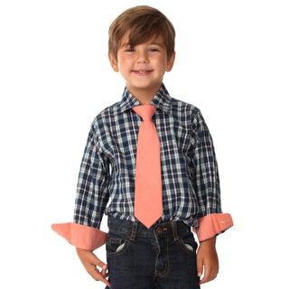 Future Trillionaire, Boys, Cotton, Shirt and Tie Set