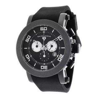 Swiss Legend Men's SL-30465-GM-01 Cyclone Black Watch