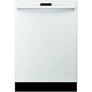 Bosch SHX68R52UC White Built-in Semi-integrated Dishwasher
