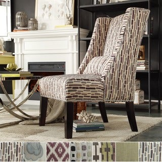 INSPIRE Q Dorchester Wingback Nail Head Accent Chair