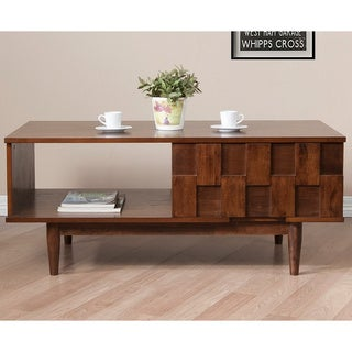 Rubberwood Coffee Sofa End Tables Overstock Shopping The Best Prices Online
