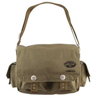 Little Earth New York Jets Prospect Messenger Bag