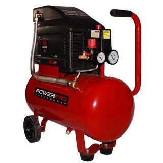 PowerPro 6-gallon Horizontal Tank Oil Lubricated Compressor