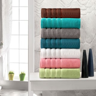 Salbakos Luxury 600 GSM Turkish Cotton 12-piece Towel Set