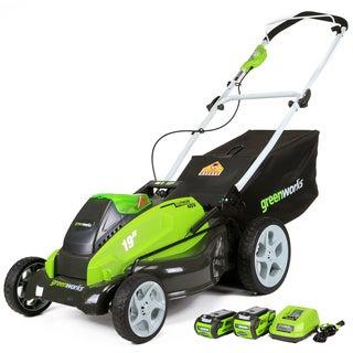 G-MAX 25223 40V 19-inch Cordless Lawn Mower