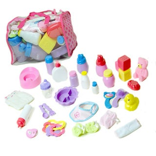 The New York Doll Collection Deluxe Baby Doll Accessory Set