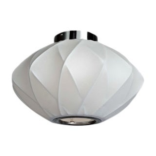 Legion Furniture Semi-flush 14-inch Ceiling Cocoon Lamp