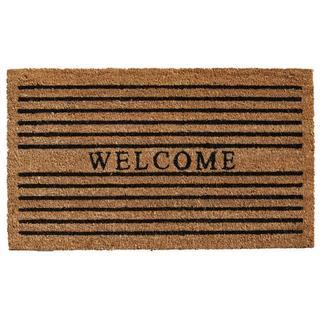 Winchester Welcome Coir with Vinyl Backing Doormat (1'5 X 2'5)