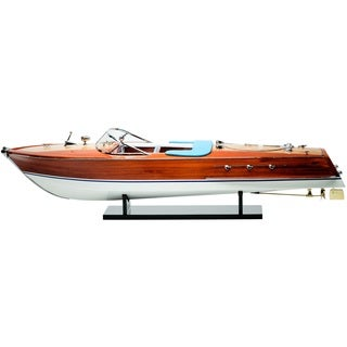 Red Vanilla Riva Ariston 34.25-inch Speed Boat Figure