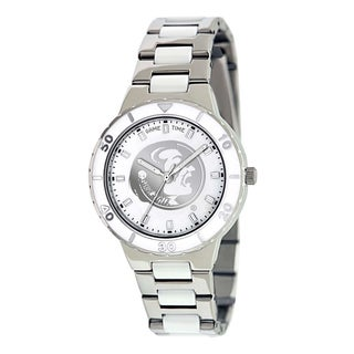 Game Time Women's Florida State Seminoles Logo Pearl Watch