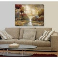 Fond Memory' Printed Gallery-wrapped Canvas Art