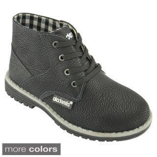 Akademiks Boys' Terry-01 Chukka Boots