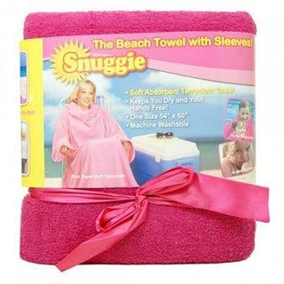 As Seen on TV Snuggie Beach Towel with Sleeves