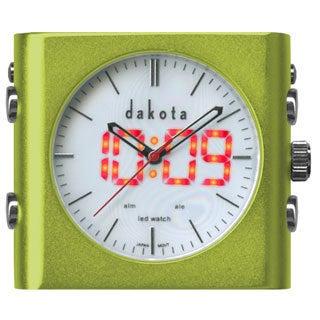 Dakota L.E.D. Dual Time Hybrid Clock