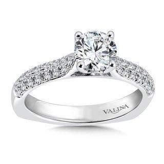 Valina 14k White Gold 1 1/10ct TDW Diamond Engagement Ring (F-G, SI1-SI2)