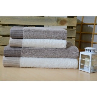 Enchante Dime Rayon from Bamboo Bath Towels (Set of 2)