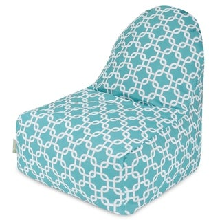 Majestic Home Goods Teal Links Kick-It Chair