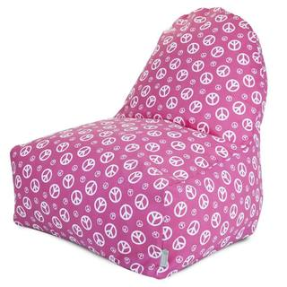 Majestic Home Goods Hot Pink Peace Kick-it Chair