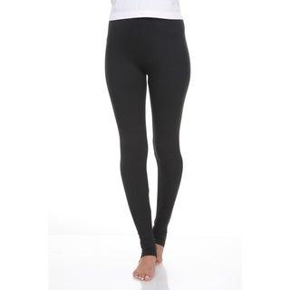 White Mark Women's Cotton Leggings