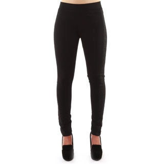 Hadari Women's Casual Black Skinny Pants