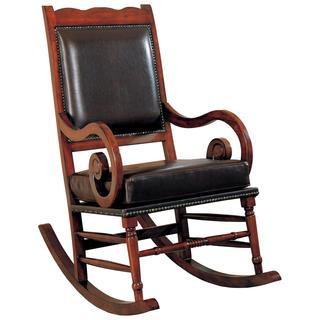 Rimon Nail Head Trim Rocking Chair