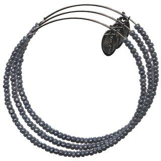 Pink Box Baby Blue Violet Adjustable Bead Bangle Bracelet