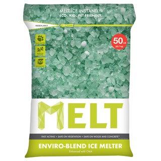 Snow Joe MELT 50 Lb. Resealable Bag Premium Enviro-Blend Ice Melter with CMA