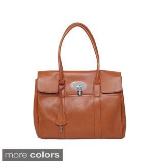 The Elegant B Leather Handbag