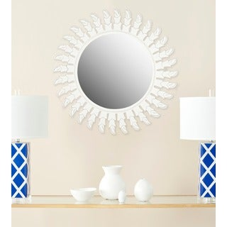 Safavieh Inca Sunburst White Mirror