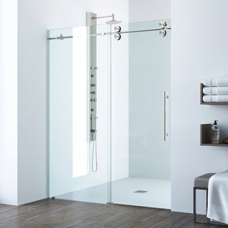 VIGO 52-inch Frameless Shower Door