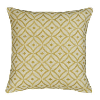 Ample Feather-filled Decorative Pillow