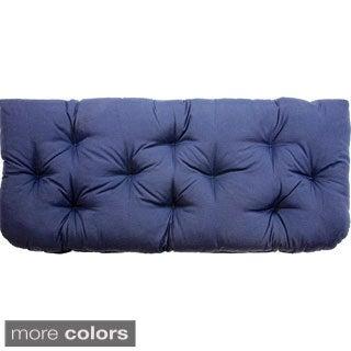Christopher Knight Home Diamond Tufted Wicker Loveseat/Settee Cushion