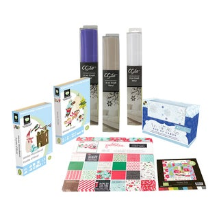 Cricut Cgull Winter Scrapbooking/ Cartridge Bundle