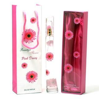 Enzo Moretti Beautiful Flower Pink Daisy Women's 3.4-ounce Eau de Parfum Spray