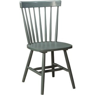 Signature Design by Ashley Bantilly Light Blue Dining Room Chair (Set of 4)